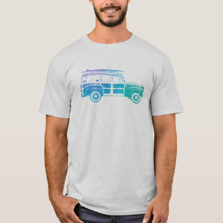 Vintage Woody Surf wagon T-Shirt
