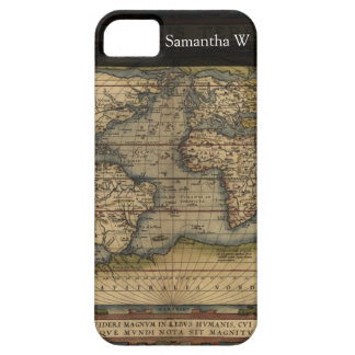 Vintage World Map Atlas Historical Design iPhone 5 Covers