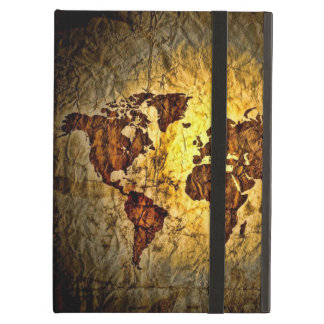 Vintage World Map iPad Air Cases