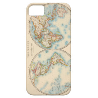 [Vintage] World Map iPhone 5/5s Case