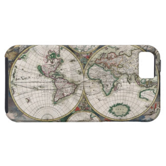 Vintage World Map iPhone 5 Case