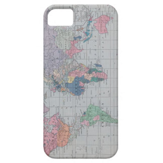 Vintage World Map iphone case