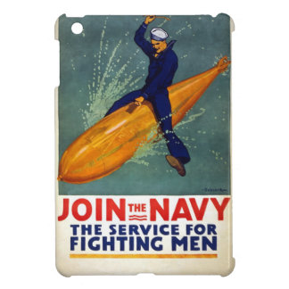 Vintage World War 1 Join the Navy iPad Mini Covers