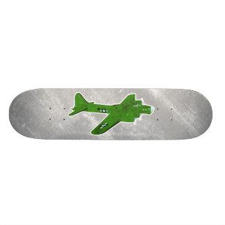 Vintage World War 2 Bomber Military Aircraft Custom Skateboard