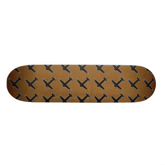 Vintage World War 2 Bomber Military Aircraft Skate Board Deck
