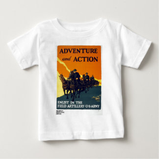Vintage World War I Adventure in Action Army Baby T-Shirt