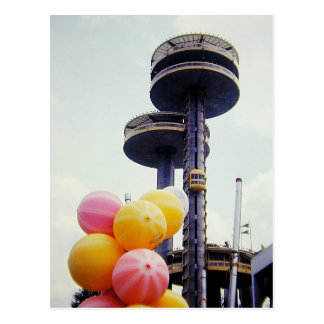 Vintage World's Fair Balloons Postcard