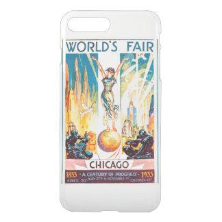 Vintage Worlds Fair Chicago 1933 iPhone 7 Plus Case
