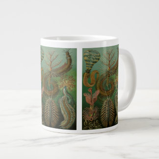 Vintage Worms Annelids Chaetopoda by Ernst Haeckel Large Coffee Mug