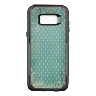 Vintage Worn Abused Turquoise Wallpaper OtterBox Commuter Samsung Galaxy S8+ Case