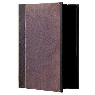Vintage Worn Purple Book Cover