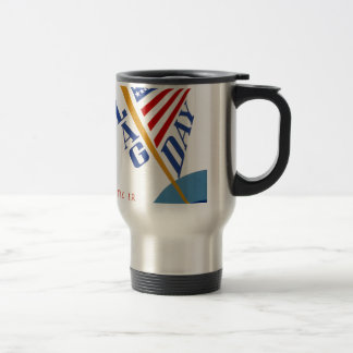 Vintage WPA Flag Day Travel Mug
