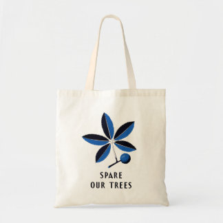Vintage WPA - Spare Our Trees | Budget Tote Bag