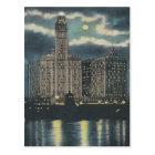 Vintage Wrigley Building Chicago Postcard