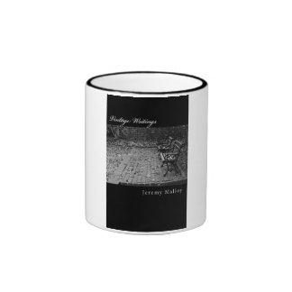 Vintage Writings 11oz Black Ringer Mug