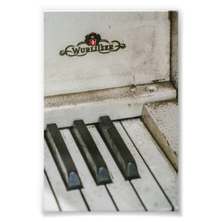 Vintage Wulitzer Electric Piano Photo Print