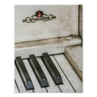 Vintage Wulitzer Electric Piano Photograph