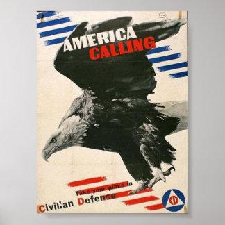 Vintage WW2 Propaganda Poster