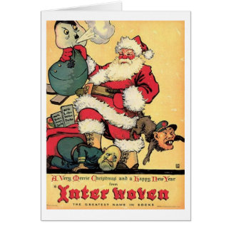 Vintage WWII Christmas and New Year Card