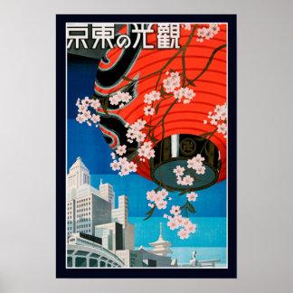 Vintage WWII Japanese Travel Poster