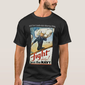 Vintage WWII Navy Recruiting T-shirt