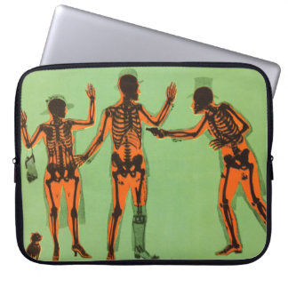 Vintage X Ray People Gun Science Fiction Invention Computer Sleeve