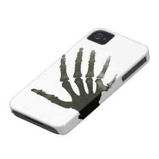 Vintage X-Ray Six Finger Hand Skeleton Bones iPhone 4 Case-Mate Case