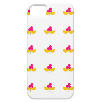 Vintage yellow and pink flowers iPhone 5 case
