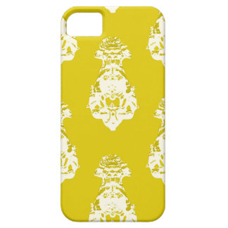 Vintage yellow background iPhone 5 covers