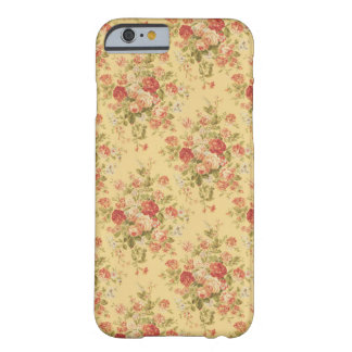 Vintage Yellow Floral iPhone 6 case