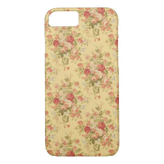 Vintage Yellow Floral iPhone 7 case