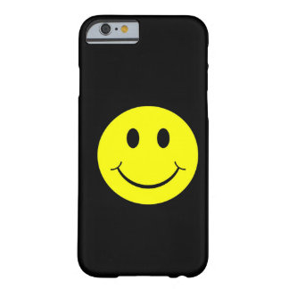 Vintage Yellow Happy Smiley Face iPhone 6 case