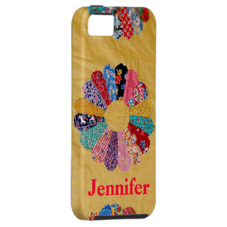 Vintage Yellow Quilt iPhone 5 Case