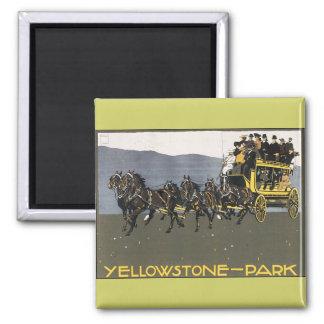 Vintage Yellowstone Park Magnet