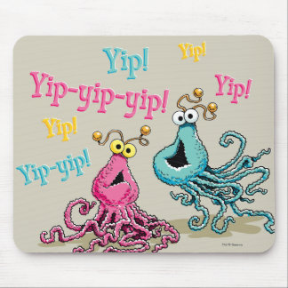 Vintage Yip-Yips Mouse Pad