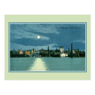 Vintage Yonge Street Dock Toronto Canada Postcard