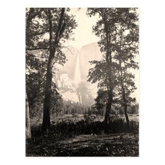 Vintage Yosemite Falls Postcard