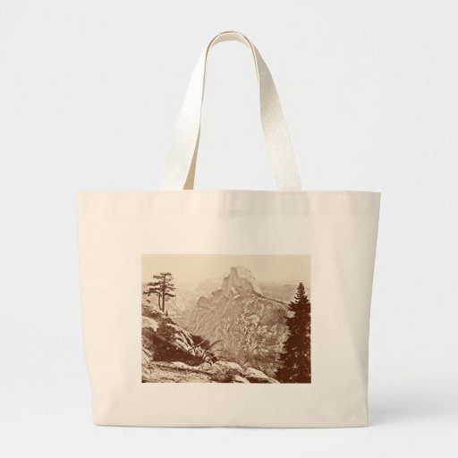 Vintage Yosemite National Park Canvas Bags