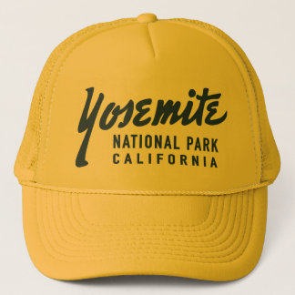 Vintage Yosemite National Park Trucker Hat