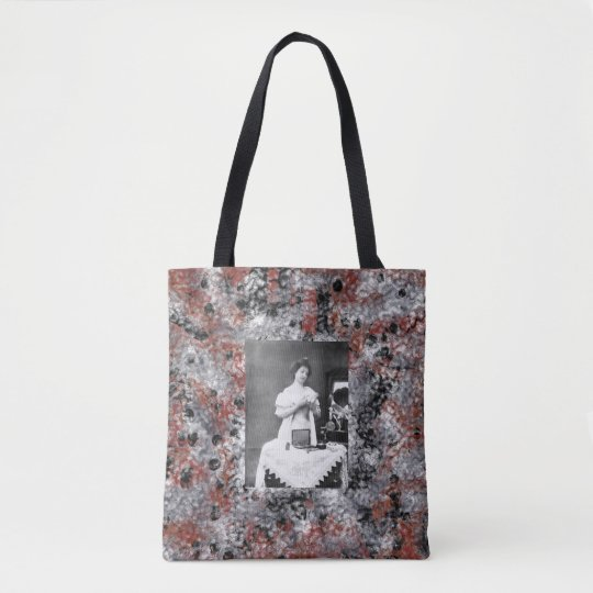 Vintage YOung Woman 2 Tote Bag