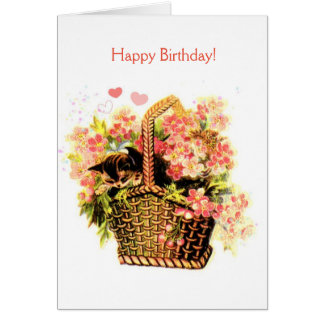 Vintage - Your Special Birthday (Message Inside), Card
