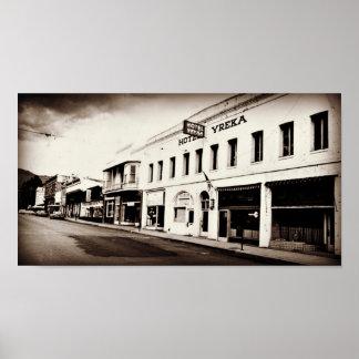 Vintage Yreka California Poster