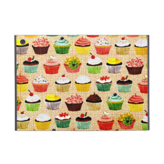 Vintage Yummy Cupcakes iPad Mini Cover