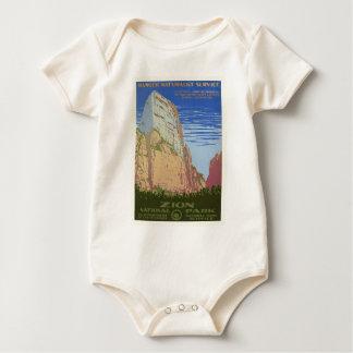 Vintage Zion Park Baby Bodysuit