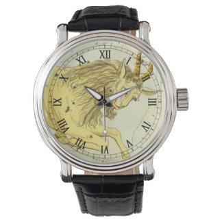 Vintage Zodiac, Astrology Capricorn Constellation Wristwatches