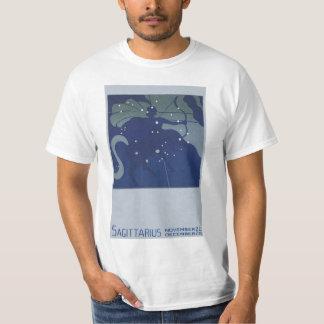 Vintage Zodiac Astrology Sagittarius Constellation T-Shirt