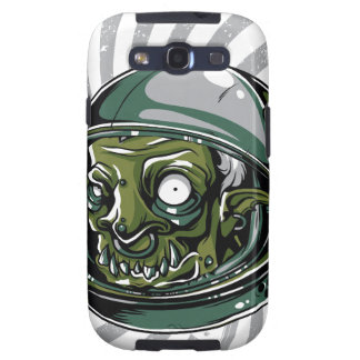 vintage zombie scary face galaxy s3 cover