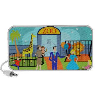 Vintage Zoo Portable Speaker