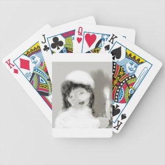 vintagebrideplatinum bicycle playing cards