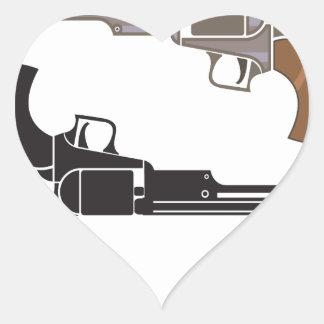 VintageRevolver.pdf Heart Sticker
